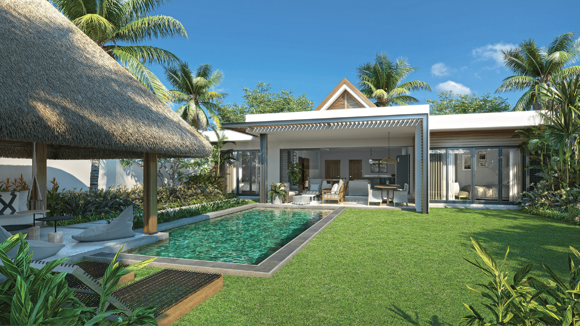 St. Antoine – Private Residence: Dream Villa by the Sea in Mauritius